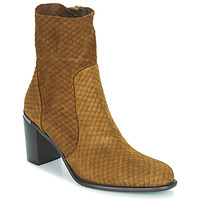 Shoes Women Boots Adige FARA V2 ECAILLE NOIX Brown