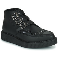 Shoes Mid boots TUK POINTED CREEPER 3 BUCKLE BOOT Black