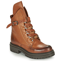 Shoes Women Mid boots Metamorf'Ose KAIDE Camel