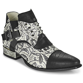 Shoes Men Derby shoes New Rock M-NW135-C12 White / Black