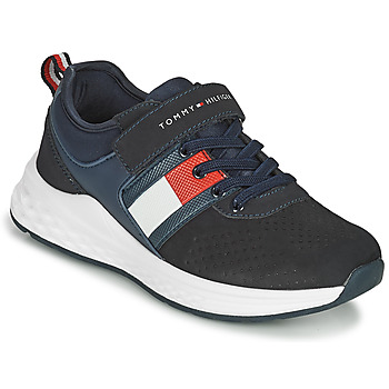 Shoes Boy Low top trainers Tommy Hilfiger T3B4-32080-1230800 Marine