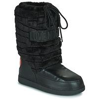 Shoes Women Snow boots Love Moschino JA24232G0D Black