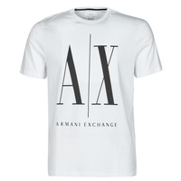 material Men short-sleeved t-shirts Armani Exchange HULO White