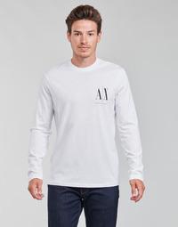 material Men Long sleeved shirts Armani Exchange 8NZTPL White