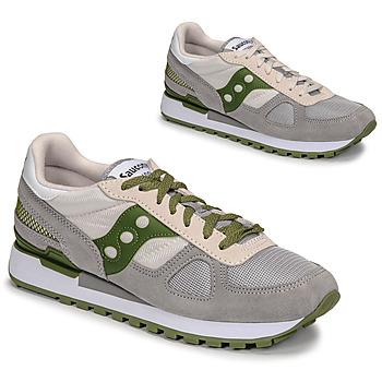 Shoes Men Low top trainers Saucony SHADOW ORIGINAL Grey / Green