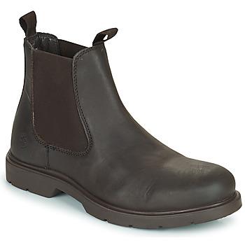 Shoes Men Mid boots Lumberjack CHARLIE BEATLES Brown