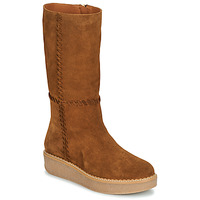 Shoes Women Boots Castaner NUCHA Cognac