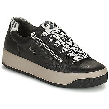 Shoes Women Low top trainers IgI&CO DONNA AVA Black