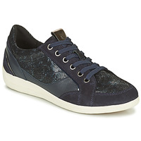 Shoes Women Low top trainers Geox MYRIA Marine