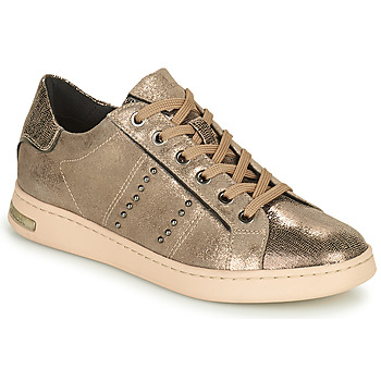 Shoes Women Low top trainers Geox JAYSEN Gold