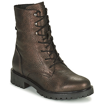 Shoes Women Ankle boots Geox HOARA Brown