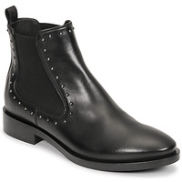 Shoes Women Ankle boots Geox BROGUE Black