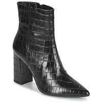 Shoes Women Ankle boots Geox BIGLIANA Black