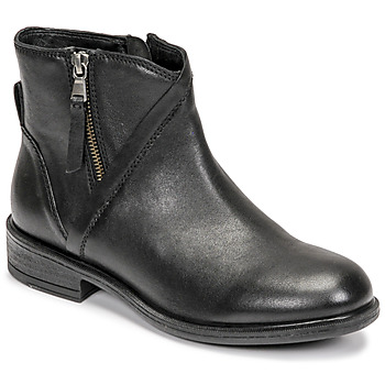 Shoes Women Ankle boots Geox CATRIA Black