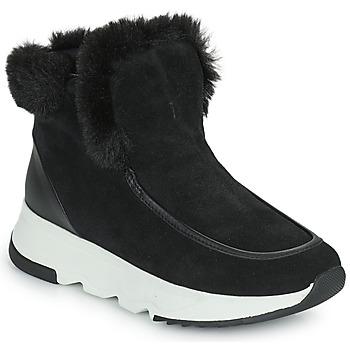 Shoes Women Mid boots Geox FALENA Black