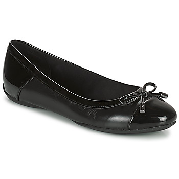 Shoes Women Ballerinas Geox CHARLENE Black