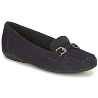 Shoes Women Loafers Geox ANNYTAH Marine