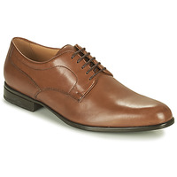 Shoes Men Derby shoes Geox IACOPO Brown