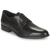 Shoes Men Derby shoes Geox IACOPO Black