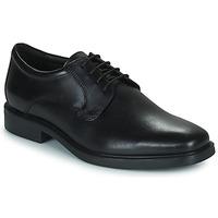 Shoes Men Derby shoes Geox BRANDOLF Black