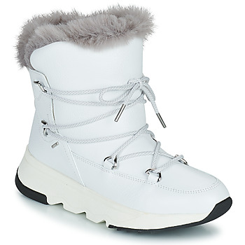 Shoes Women Snow boots Geox FALENA ABX White