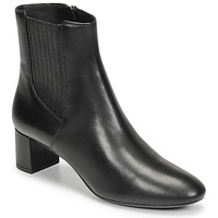 Shoes Women Ankle boots Geox PHEBY 50 Black