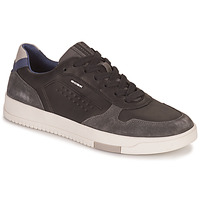 Shoes Men Low top trainers Geox SEGNALE Black