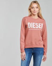 material Women sweaters Diesel F-ANGS-ECOLOGO Pink
