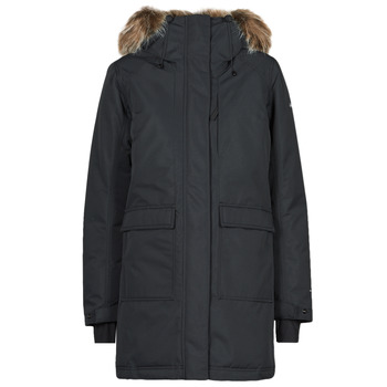 material Women Parkas Columbia LITTLE SI INSULATED PARKA Black