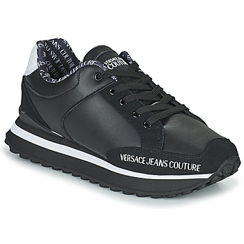 Shoes Men Low top trainers Versace Jeans Couture DOLINA Black
