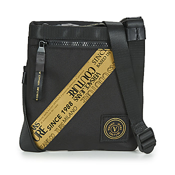 Bags Men Pouches / Clutches Versace Jeans Couture FITIRI Black / Gold