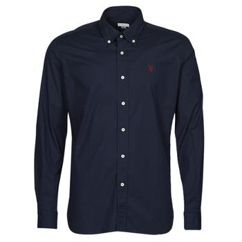 material Men long-sleeved shirts U.S Polo Assn. DIRK 51371 EH03 Marine