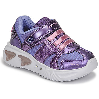 Shoes Girl Low top trainers Geox ASSISTER Violet