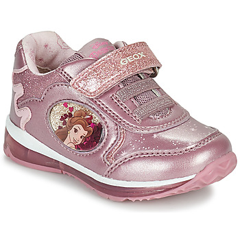 Shoes Girl Low top trainers Geox TODO Pink