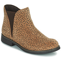 Shoes Girl Mid boots Geox AGATO Brown