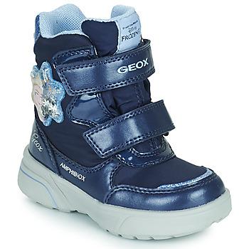 Shoes Girl Snow boots Geox SVEGGEN ABX Marine