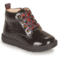 Shoes Girl Mid boots Geox HYNDE Black