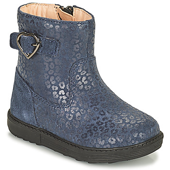 Shoes Girl Boots Geox HYNDE Blue