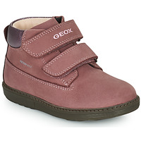 Shoes Girl Mid boots Geox HYNDE WPF Pink