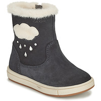 Shoes Girl Boots Geox TROTTOLA Black