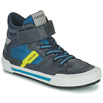 Shoes Boy High top trainers Geox ALONISSO Blue