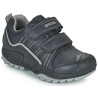 Shoes Boy Mid boots Geox SAVAGE Marine