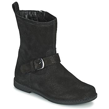 Shoes Girl Boots Geox SHAWNTEL Black