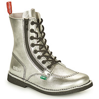 Shoes Women Mid boots Kickers MEETICKZIP Silver