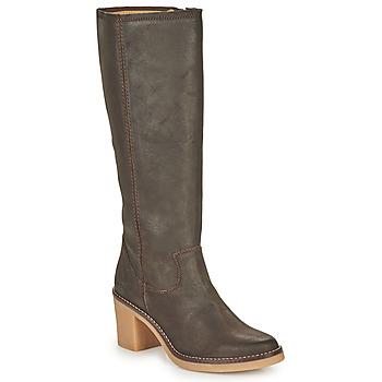 Shoes Women Boots Kickers AVEDRIM Brown