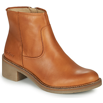 Shoes Women Ankle boots Kickers OXYBOOT Camel