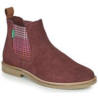 Shoes Women Mid boots Kickers TYGA Bordeaux