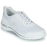 Shoes Women Low top trainers Skechers GO WALK ARCH FIT White