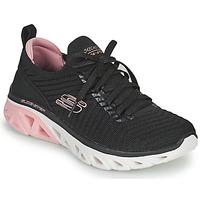 Shoes Women Low top trainers Skechers GLIDE-STEP SPORT Black / Pink