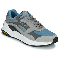 Shoes Men Low top trainers Skechers GLOBAL JOGGER Grey / Blue